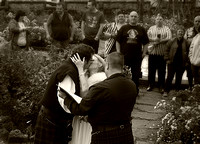 Wedding 3 sepia