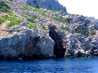 Caves on the Island of Symi