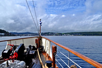 Sailing into Rothesay