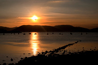 Sunsetting over Cardwell Bay, Gourock