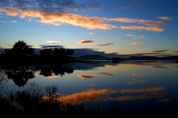 Reflections over the Loch