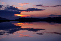 Sunset Reflections at Rowbank 1