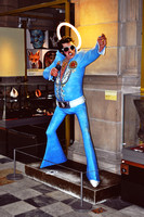 Elvis statue at Kelvingrove