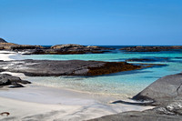Aqua waters at Sanna Bay