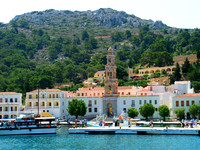 Panormitis harbour