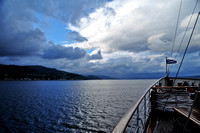 Sailing to Dunoon