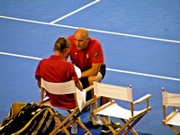 Johan coaching Ruben