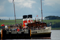 Waverley at Largs Pier