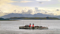 Waverley with Arran in the background copy