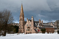 Cathedral in snow 2